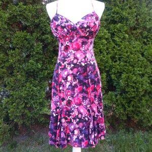 Lily - Spaghetti Strap Colorful Dress Size XS